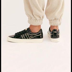 Free people x FILA sneakers black size 6 new 🌟🌟